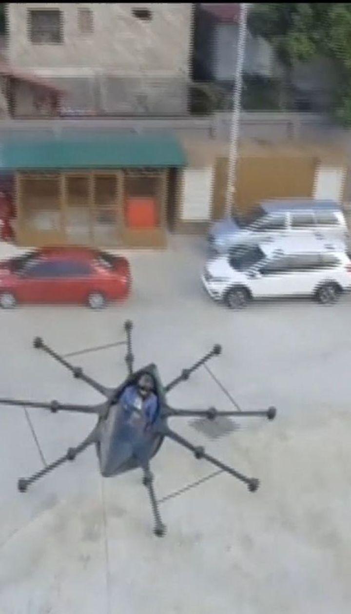 Побудував летюче авто, аби не стояти у заторах. Філіппінський винахідник показав одномісний дрон