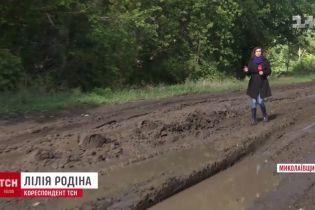 Из-за бездорожья на Николаевщине родители боятся пускать детей в школу