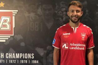Двое украинских футболистов вошли в сборную тура чемпионата Дании