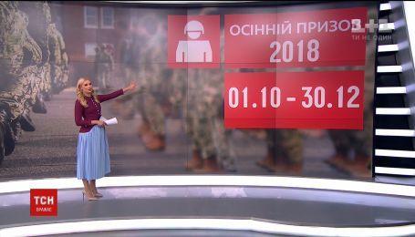 С понедельника в Украине стартует осенний призыв на срочную военную службу
