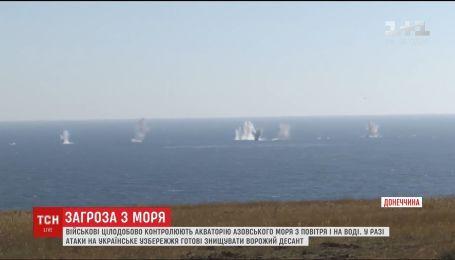 Эскалация на Азове. Россияне почти ежедневно пытаются подойти как можно ближе к украинскому берегу
