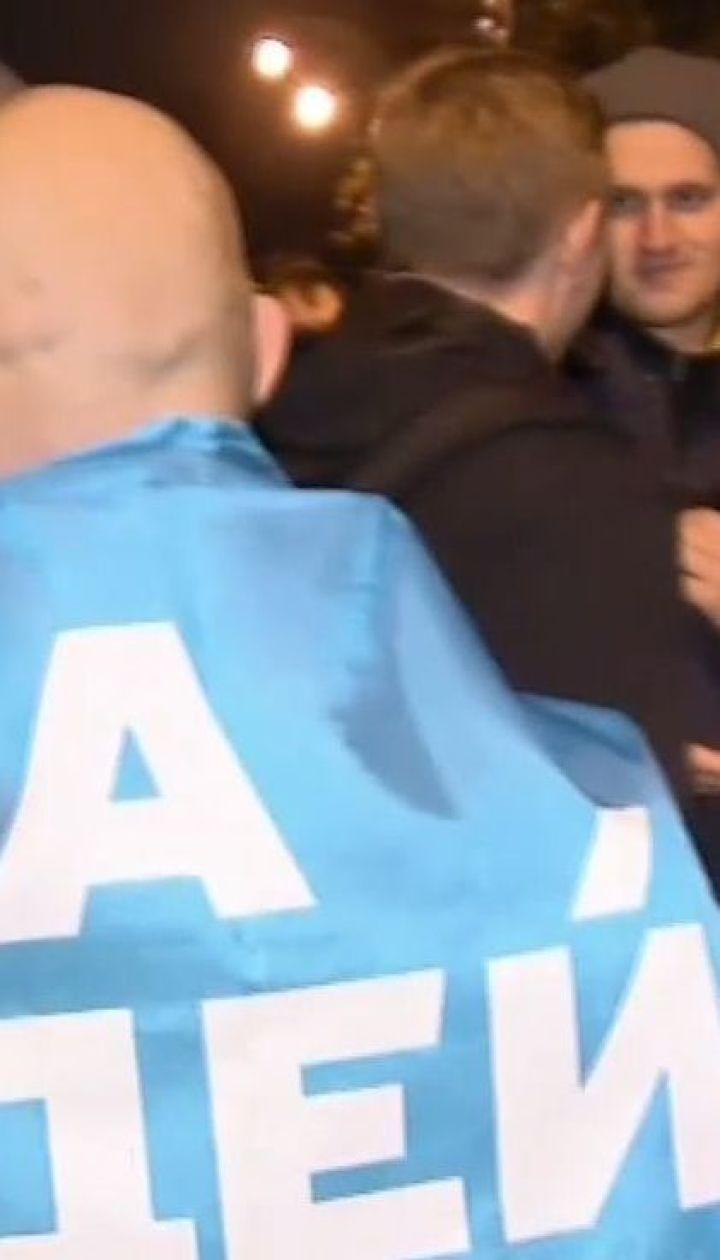 У Києві активісти штурмували адміністрацію президента та дім Авакова