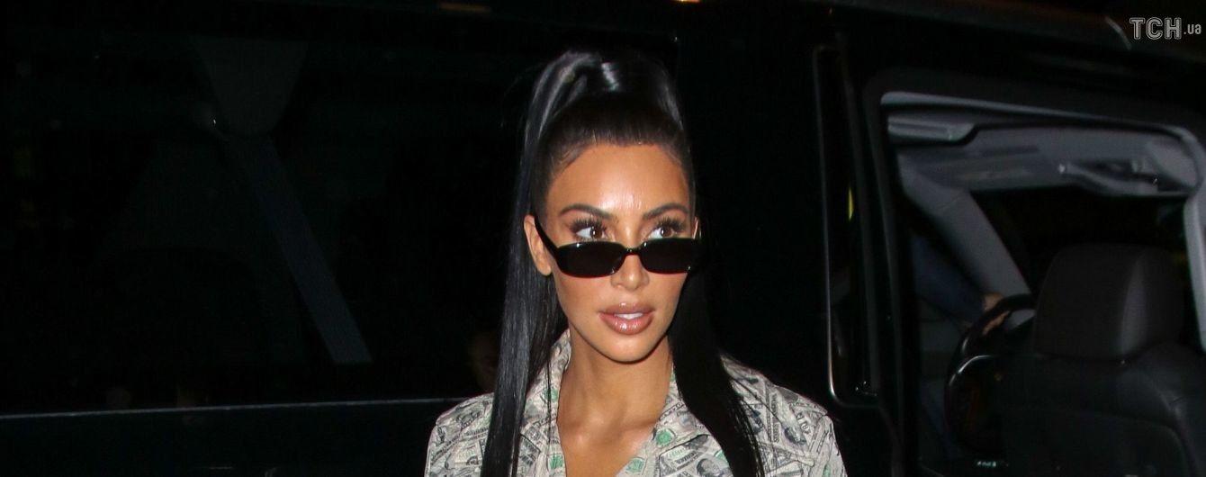 Ким Кардашян призналась, что Канье Веста огорчают ее обнаженные фото в Instagram