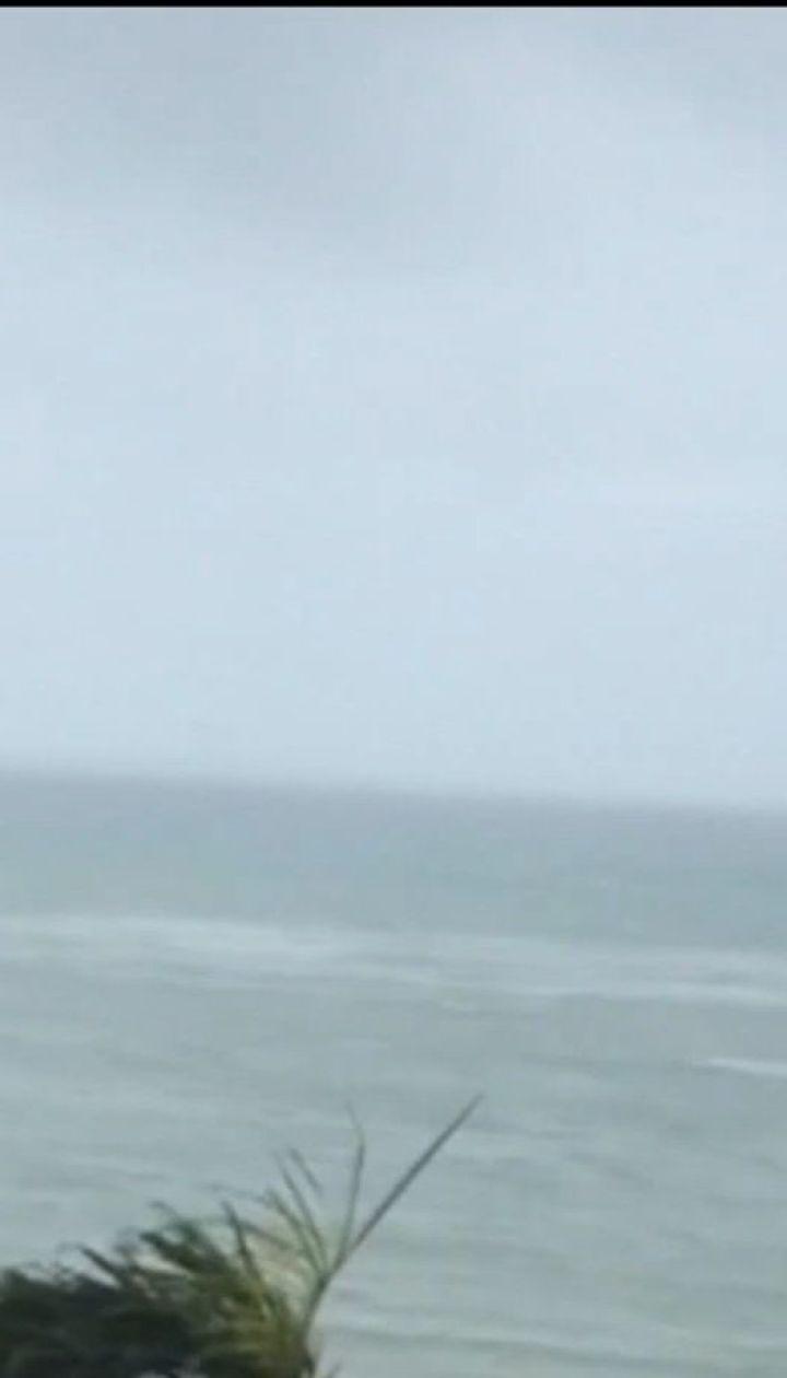 """До берегів Японії суне потужний тайфун """"Трамі"""""""