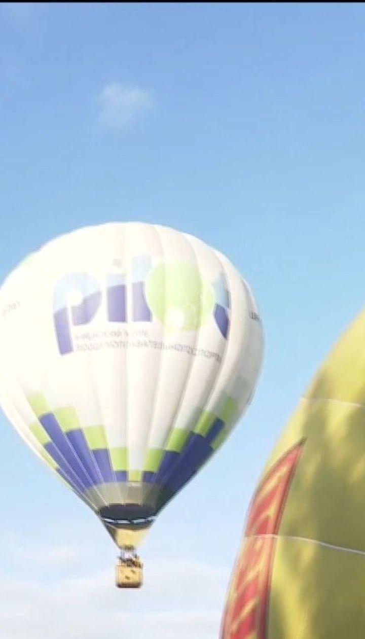 В небо над Черкащиною піднялися повітряні кулі