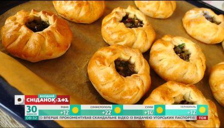 Печеные пирожки с мясом и бульоном – Сладкое воскресенье
