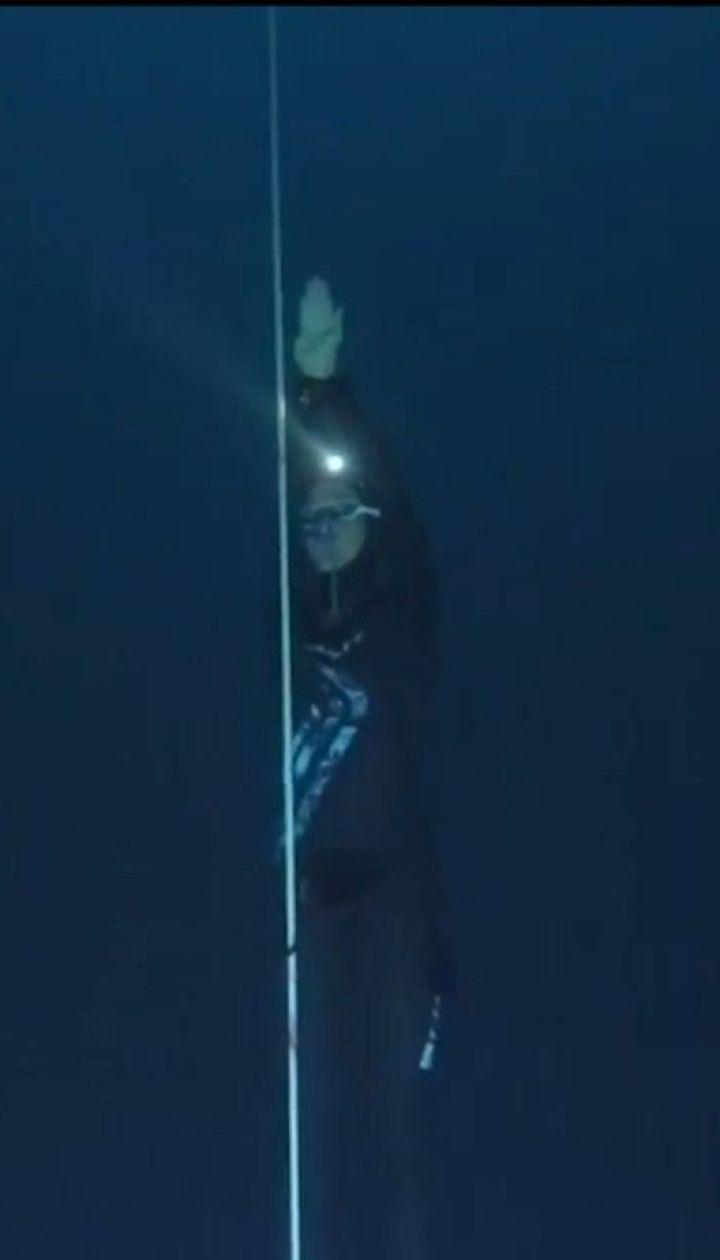 Італійка встановила світовий рекорд, пірнувши на 107 метрів у глибину