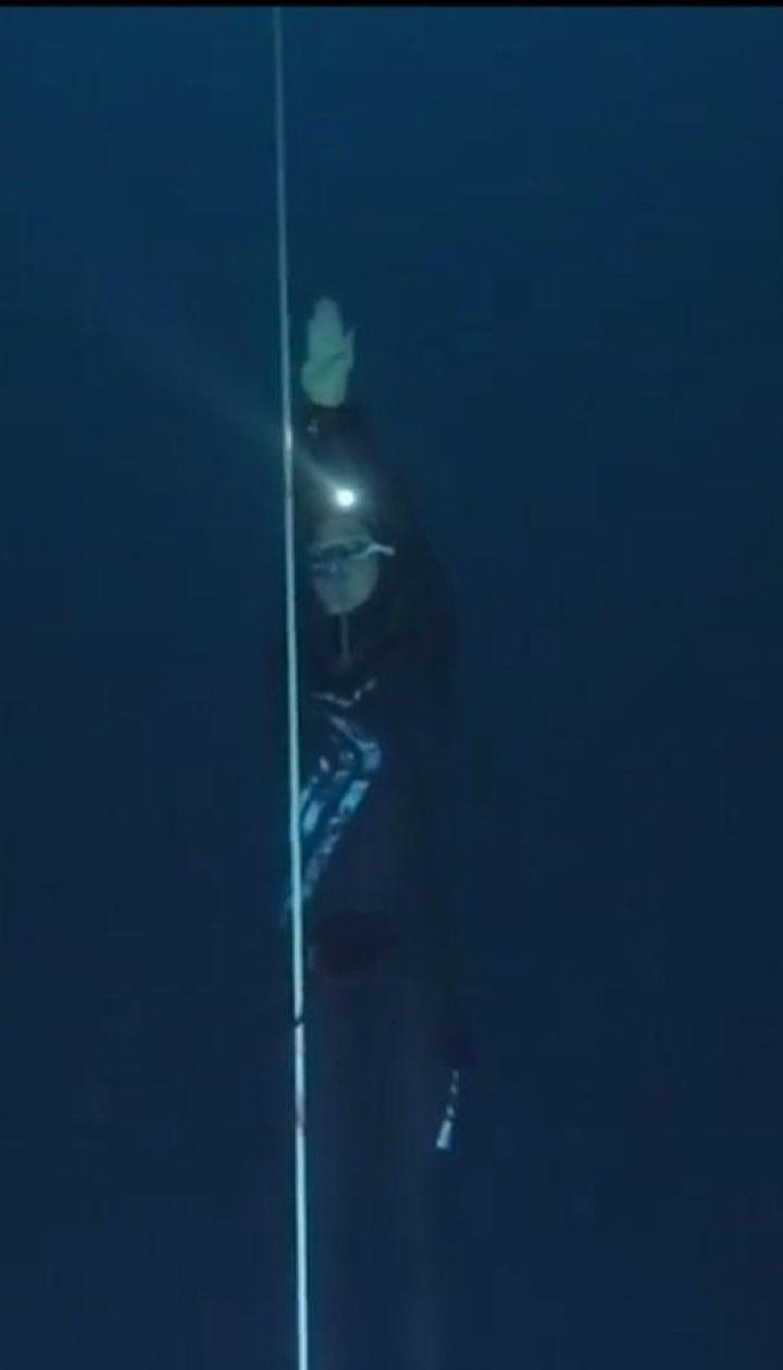 Итальянка установила мировой рекорд, нырнув на 107 метров в глубину