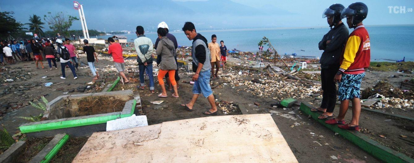 Кількість загиблих від землетрусу та цунамі в Індонезії знову різко зросла – ЗМІ