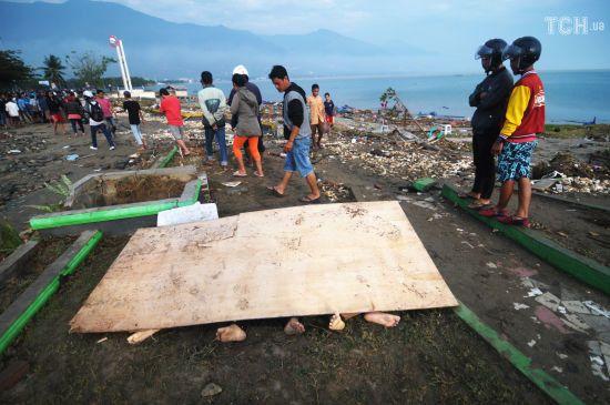 Кількість постраждалих від цунамі в Індонезії зросла до 281 особи