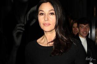 Гарна навіть в чорному: стильна Моніка Беллуччі на Паризькому тижні моди