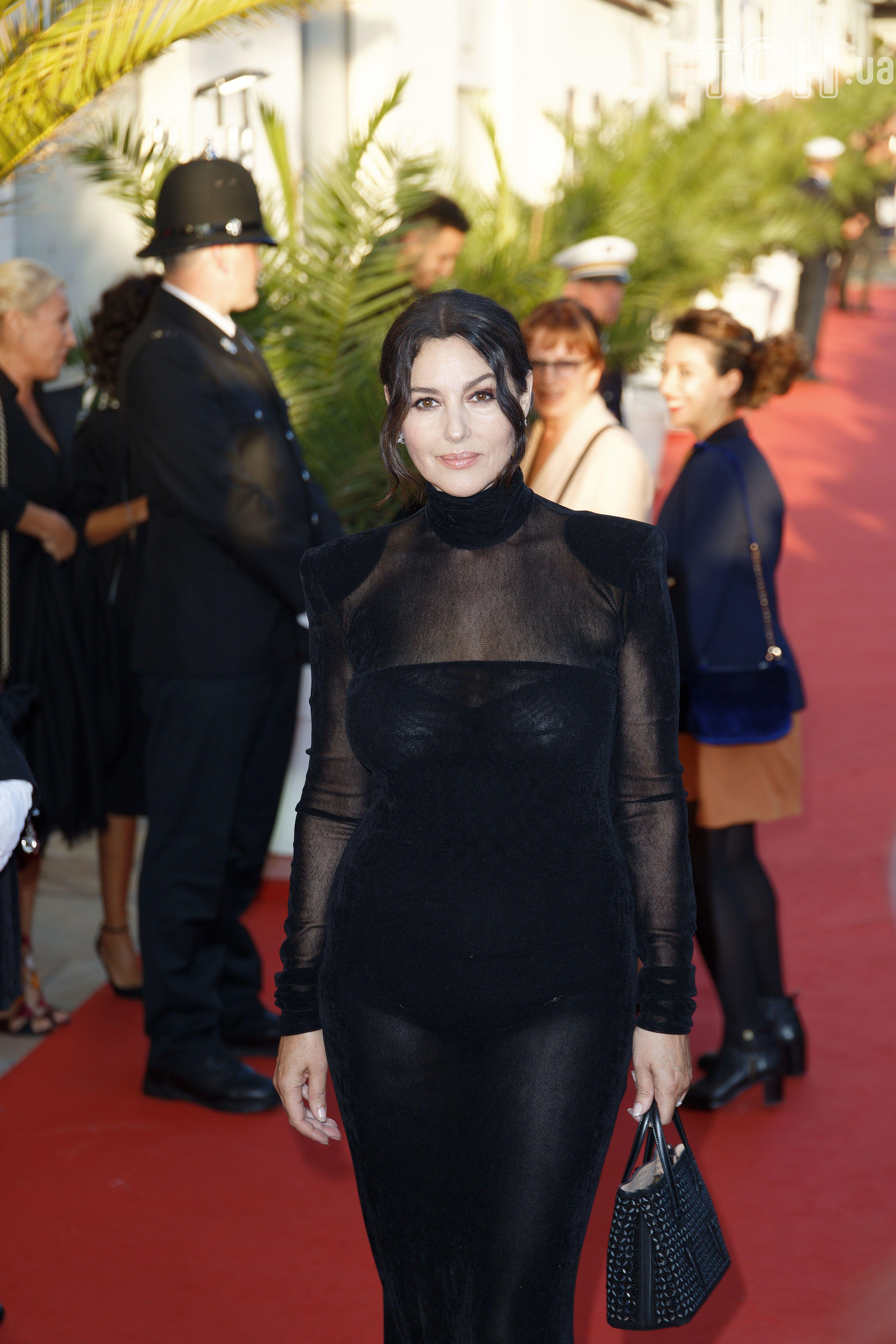 Моніка Беллуччі у Франції_1