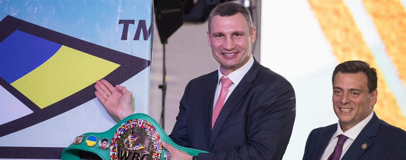 На чемпіонському поясі WBC відтепер красуватиметься український прапор