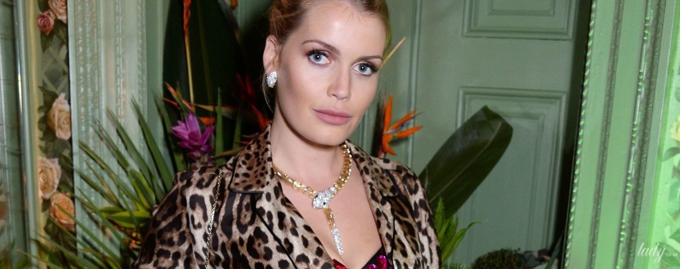 Вся в леопарде: сестра британских принцев - Китти Спенсер, посетила вечеринку в Лондоне