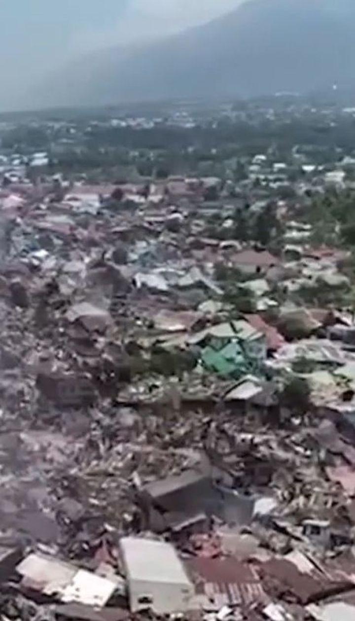 1200 осіб стали жертвами вбивчого землетрусу та цунамі в Індонезії
