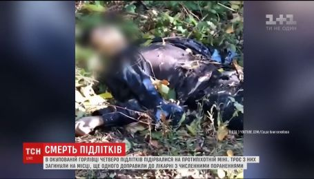 Троє молодих хлопців загинули від вибуху протипіхотної міни в Горлівці