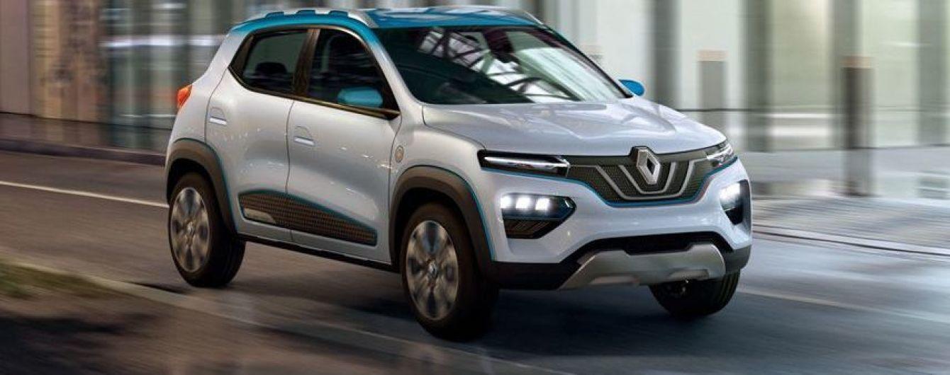 Парижский автосалон 2018: Renault K-ZE станет серийным