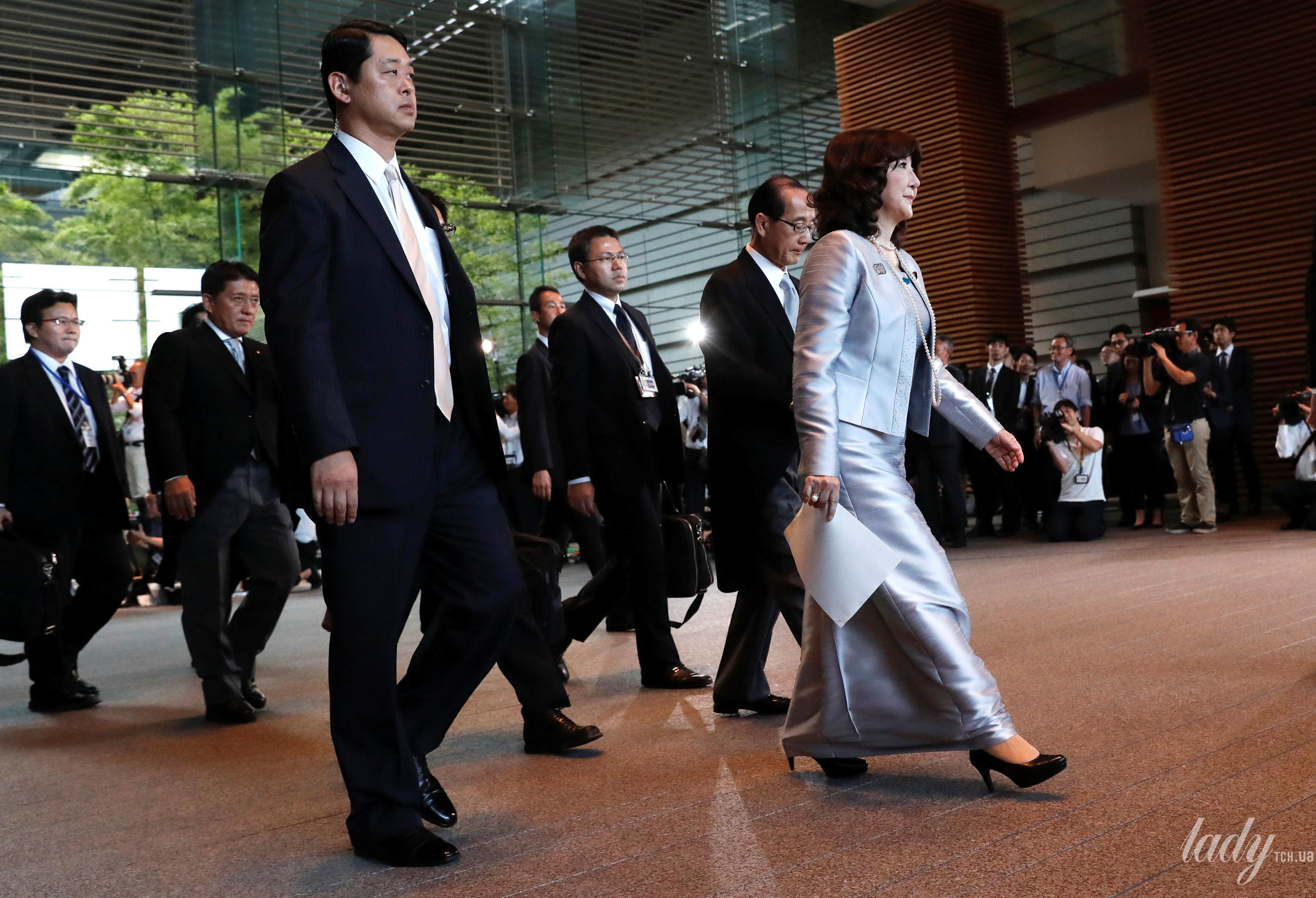 Министр Японии по делам развития регионов Сацуки Катаяма_1
