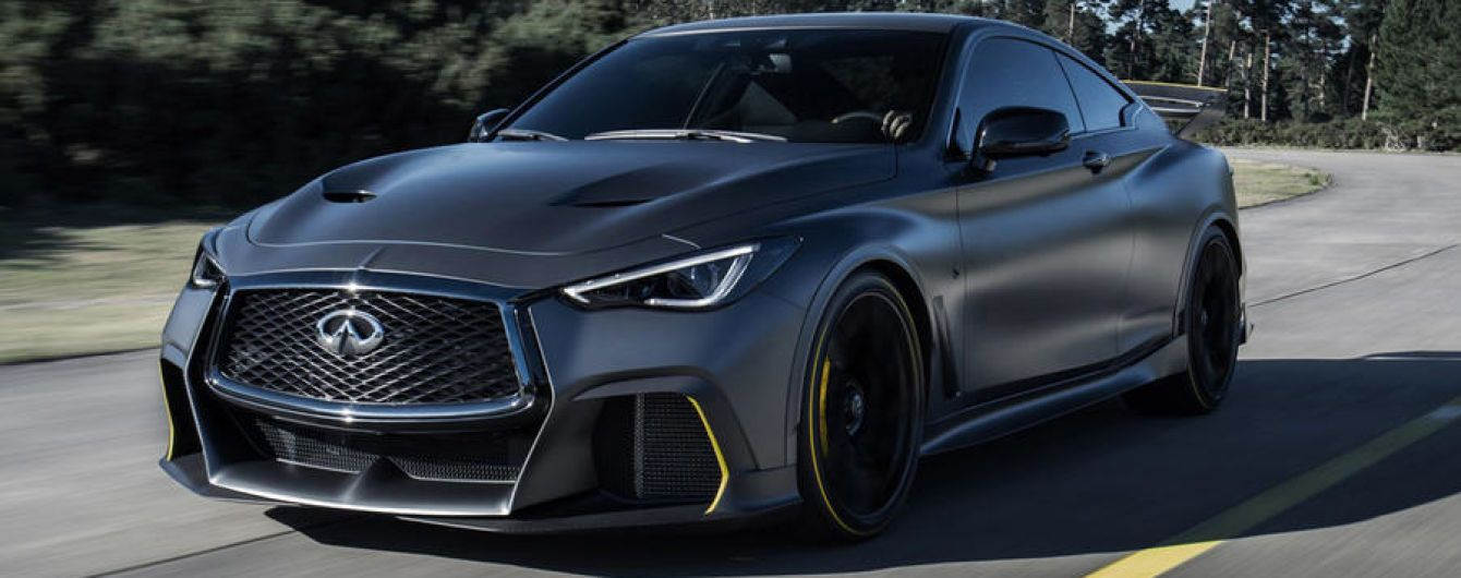 "Парижский автосалон 2018: Infiniti представили гибридное купе с технологиями ""Формулы-1"""