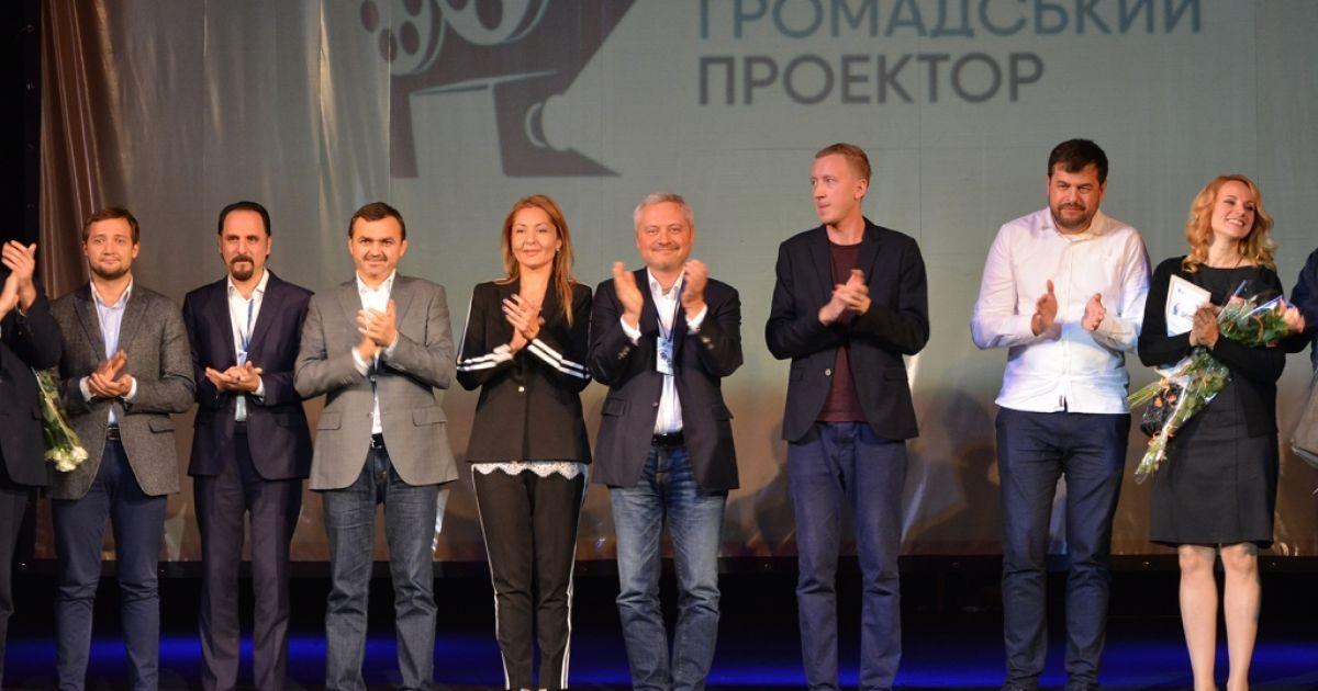 Игорь Янковский и победители фестиваля