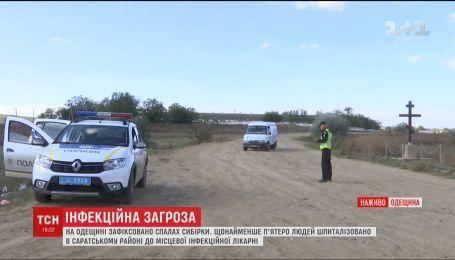 До села Міняйлівка заборонили в'їзд через спалах сибірки