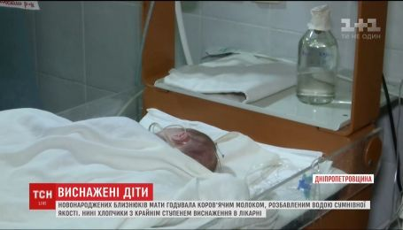 В Днепре борются за жизнь недокормленных крошечных близнецов