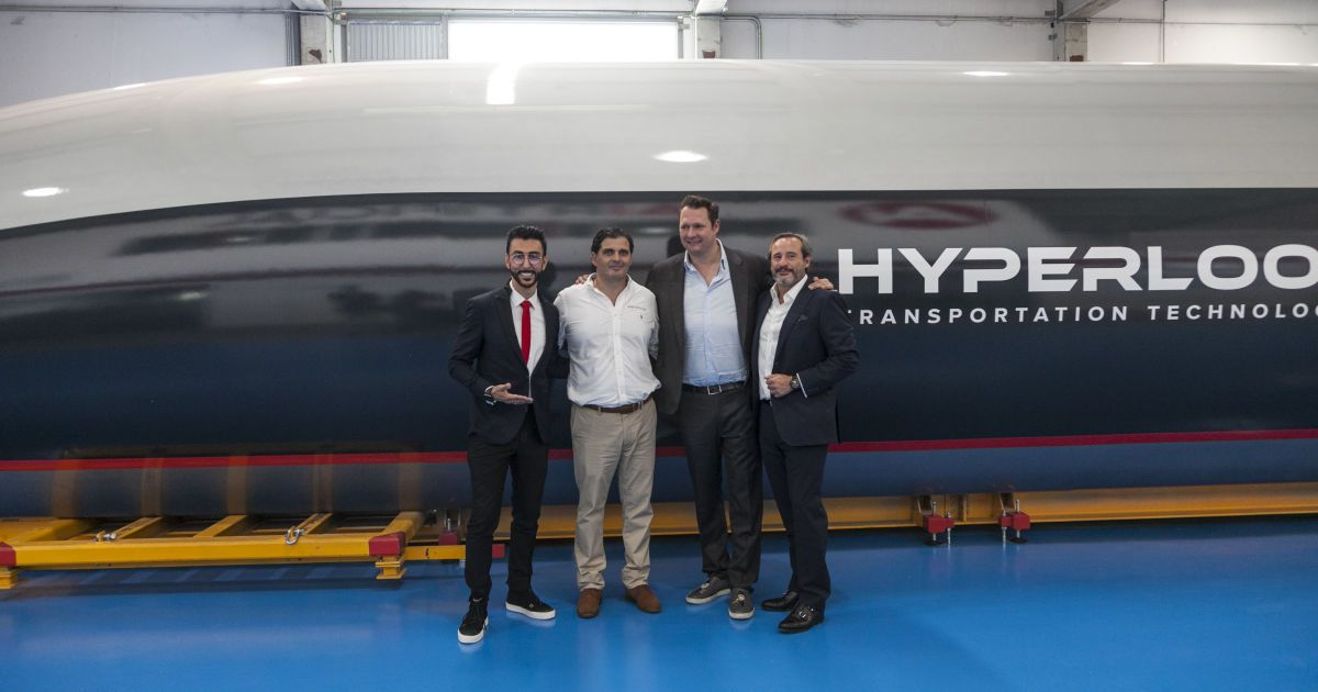@ Hyperloop Transportation Technologies
