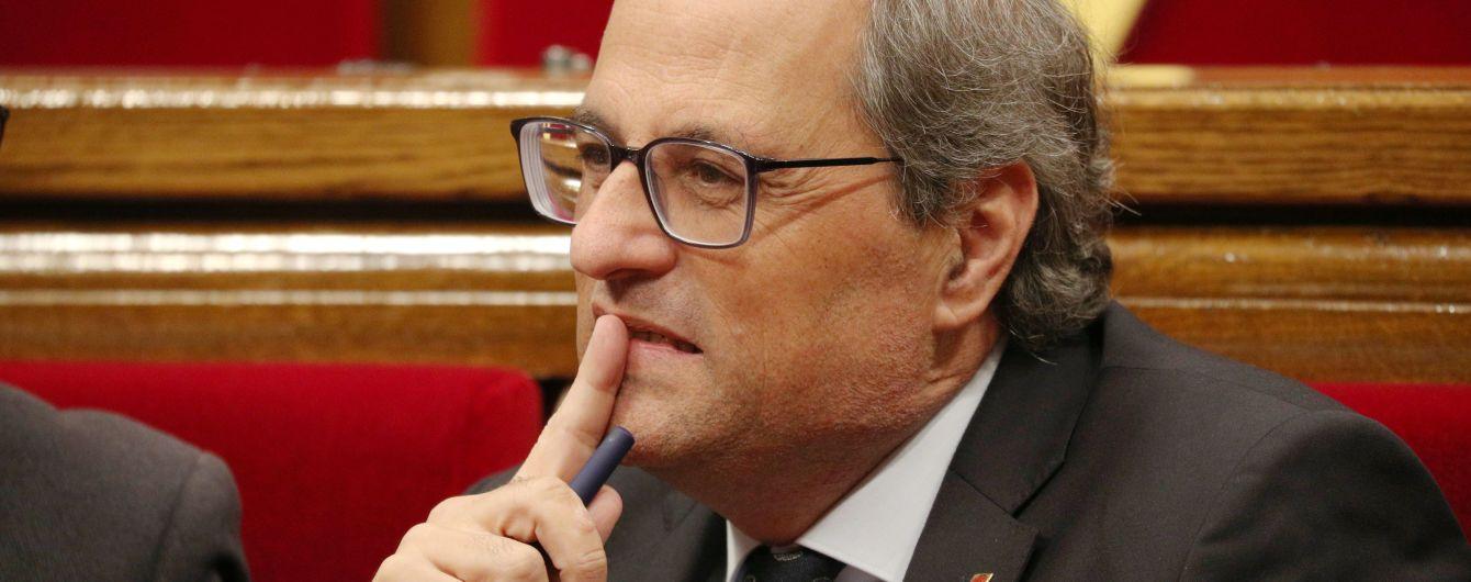 Голова Каталонії висунув ультиматим прем'єр-міністру Іспанії