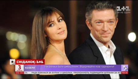 Моника Белуччи радуется новому счастью бывшего мужа