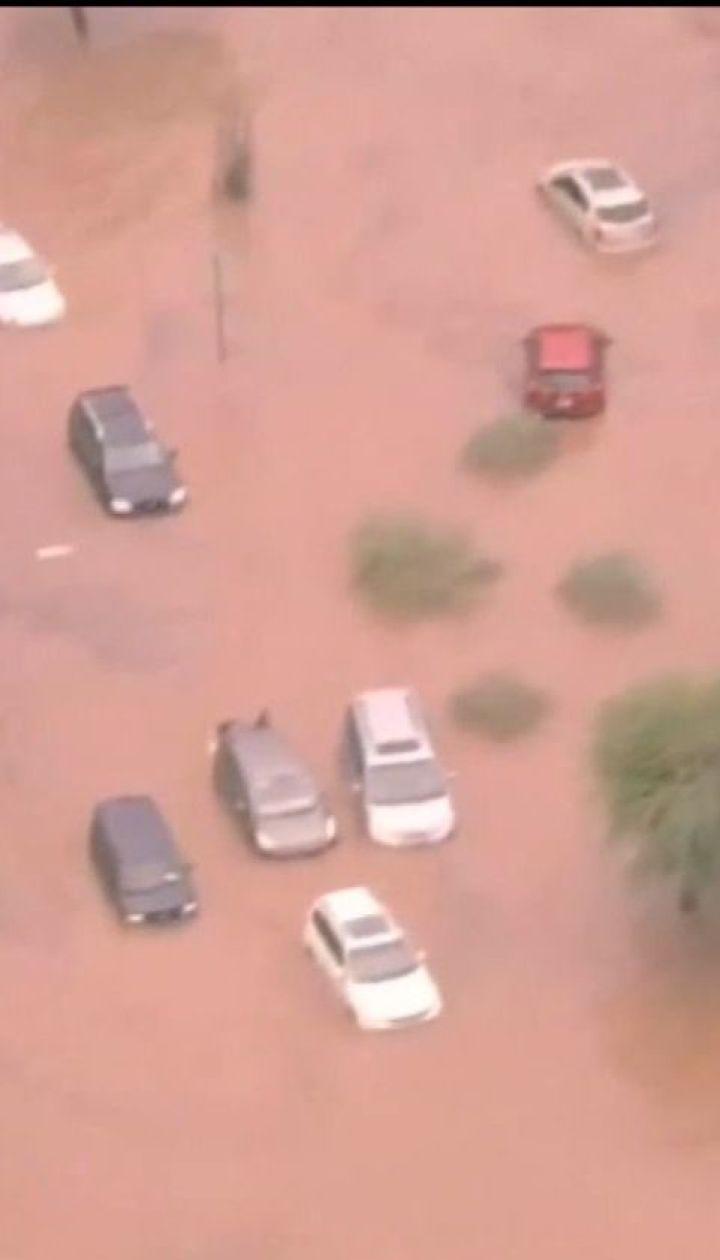 """Американське місто Фенікс оговтується після шторму """"Роза"""""""