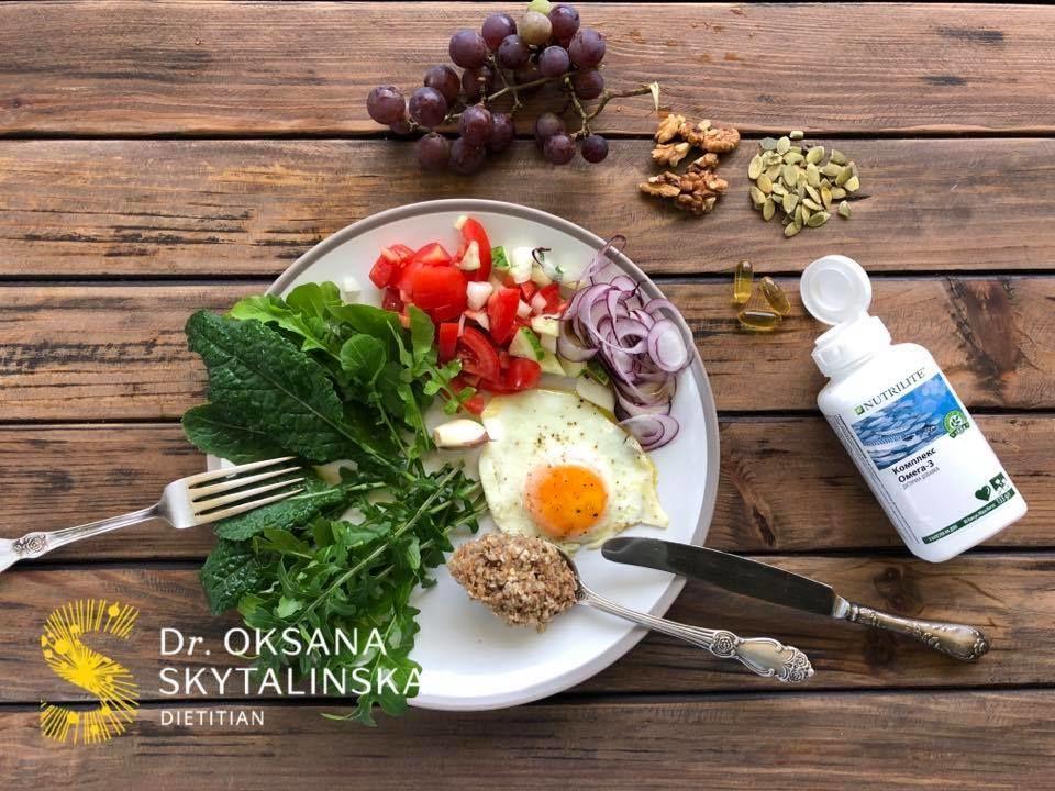 Сніданок дієтолога, для блогів