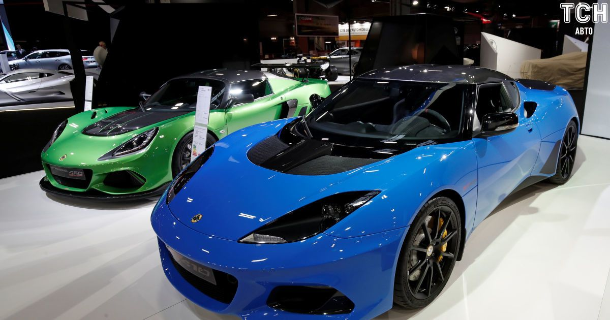 Lotus Evora GT4 @ Reuters