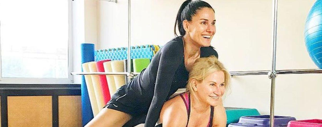 Спорт - сила: Маша Ефросинина показала, как проходит ее тренировка