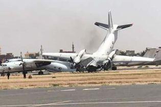 В аеропорту Судану зіткнулися два українські літаки