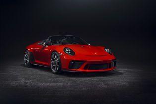 Porsche хвастается предсерийной версией Speedster