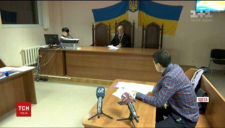 В Одессе суд отправил за решетку на два месяца одного из подозреваемых в нападении на инкассаторов