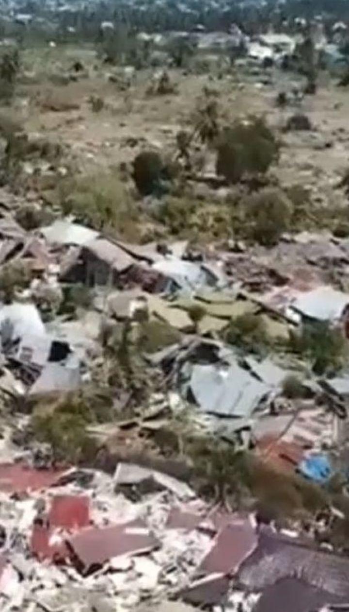 На индонезийском острове Сулавеси шестой день продолжается спасательная операция