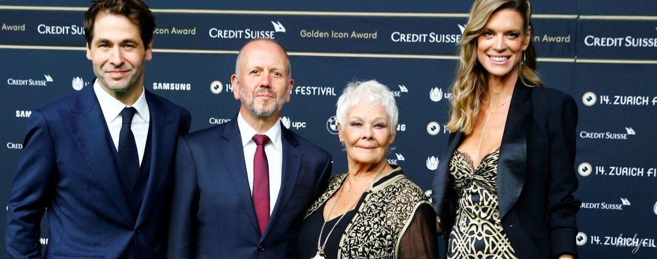 Оделись в похожие наряды: Джуди Денч и Надя Шильдкнехт на кинофестивале в Цюрихе