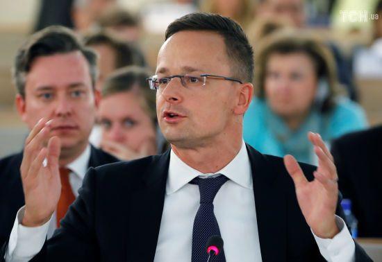 Глава МЗС Угорщини звинуватив українську владу в диктаторських рішеннях