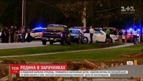 В Южной Каролине мужчина взял в заложники детей и открыл огонь по полицейским