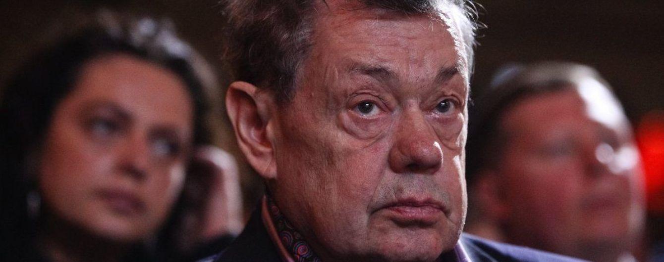 Николая Караченцова госпитализировали