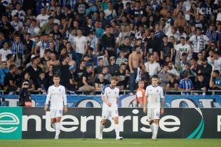 Еврокубковый ноль. Украинские клубы за два тура не одержали ни одной победы