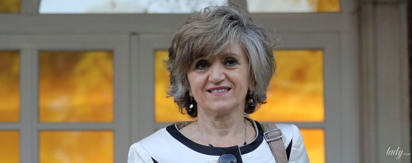 В белом костюме и на шпильках: образ нового министра здравоохранения Испании