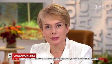 Лілія Гриневич розповіла про радість і проблеми українських вчителів