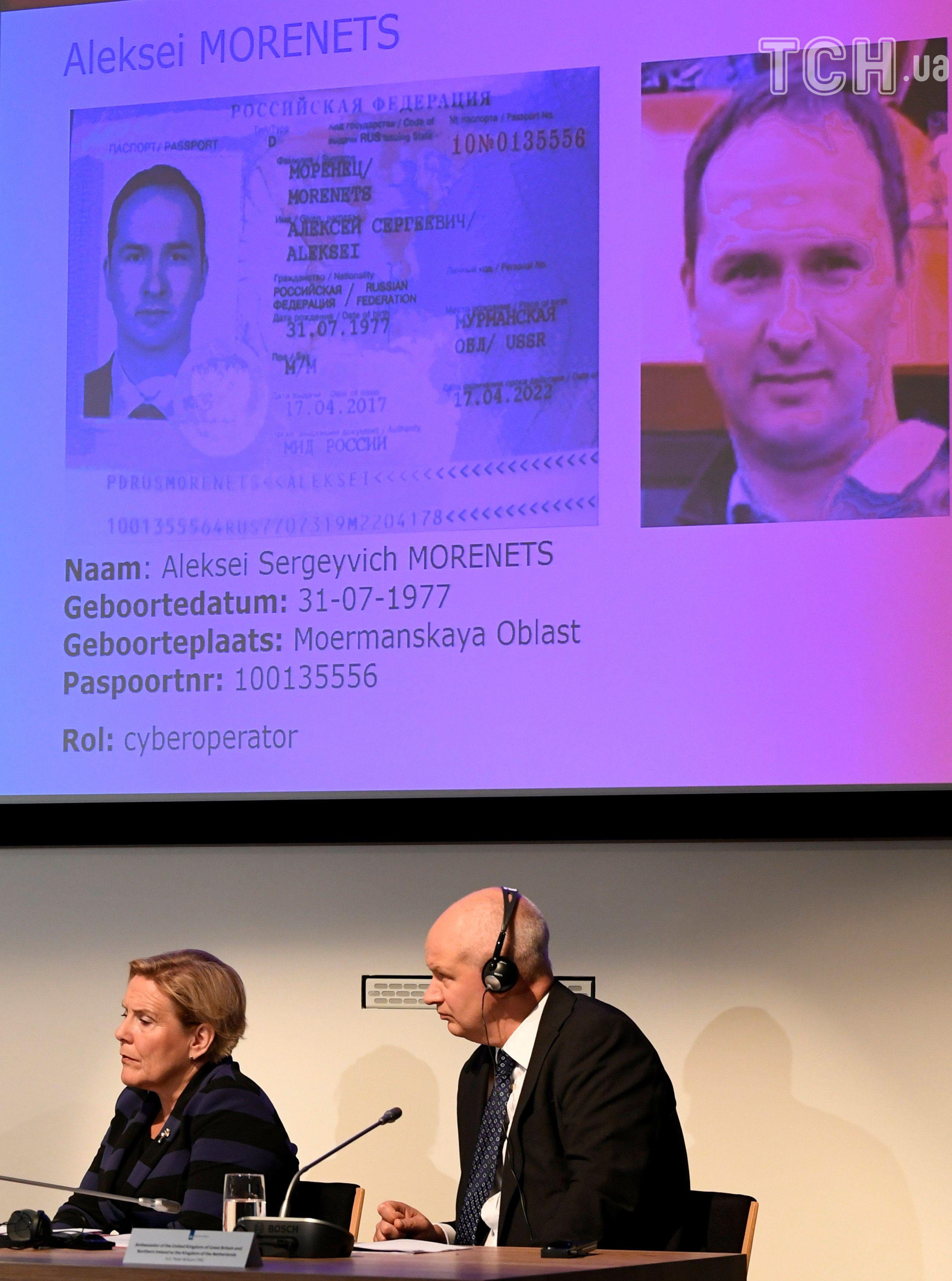 документи офіцерів ГРУ у Нідерландах