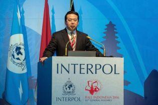Китайська влада підтвердила, що заарештувала президента Інтерполу
