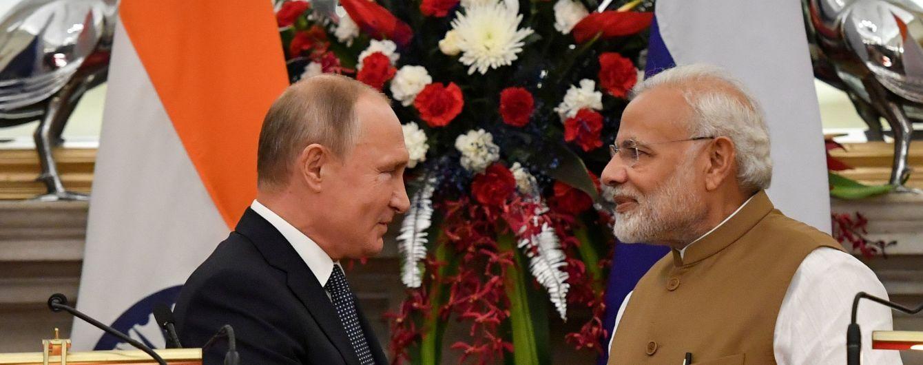 РФ та Індія домовилися про постачання п'яти полків російських ЗРК С-400