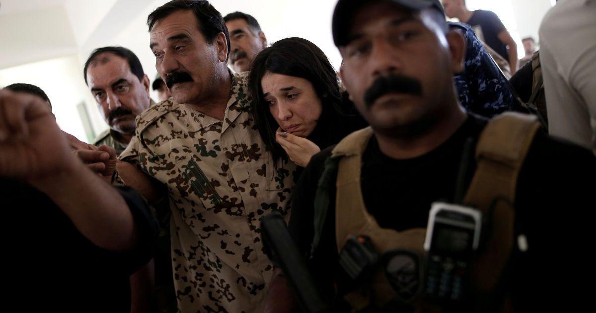 Лауреат Нобелівської премії миру Надія Мурад @ Reuters