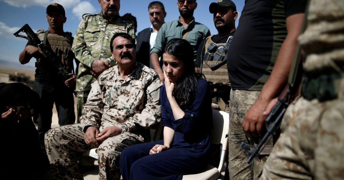 Лауреат Нобелевской премии мира Надежда Мурад
