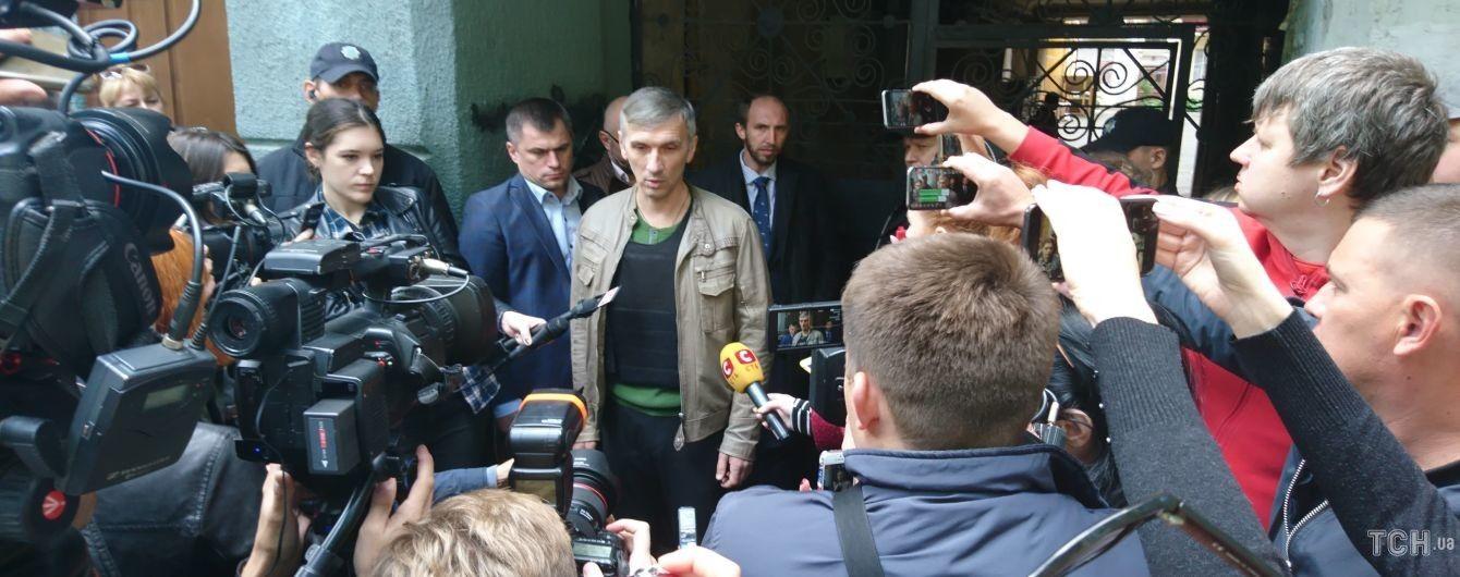 Активисту Михайлику, в которого в сентябре стреляли в Одессе, вытащили пулю из легких